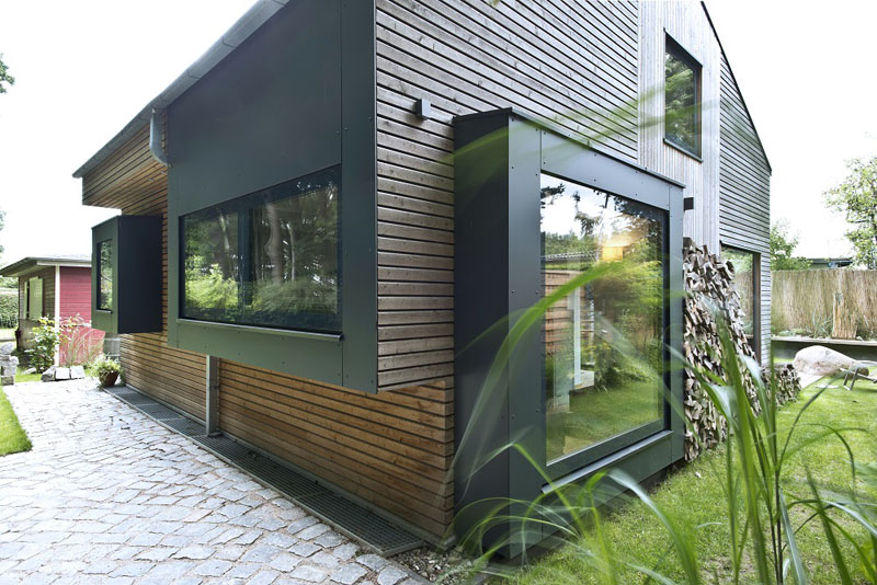 Glasrahmen Fenster Tür Holz Svarre individuell Vrøgum Dänemark